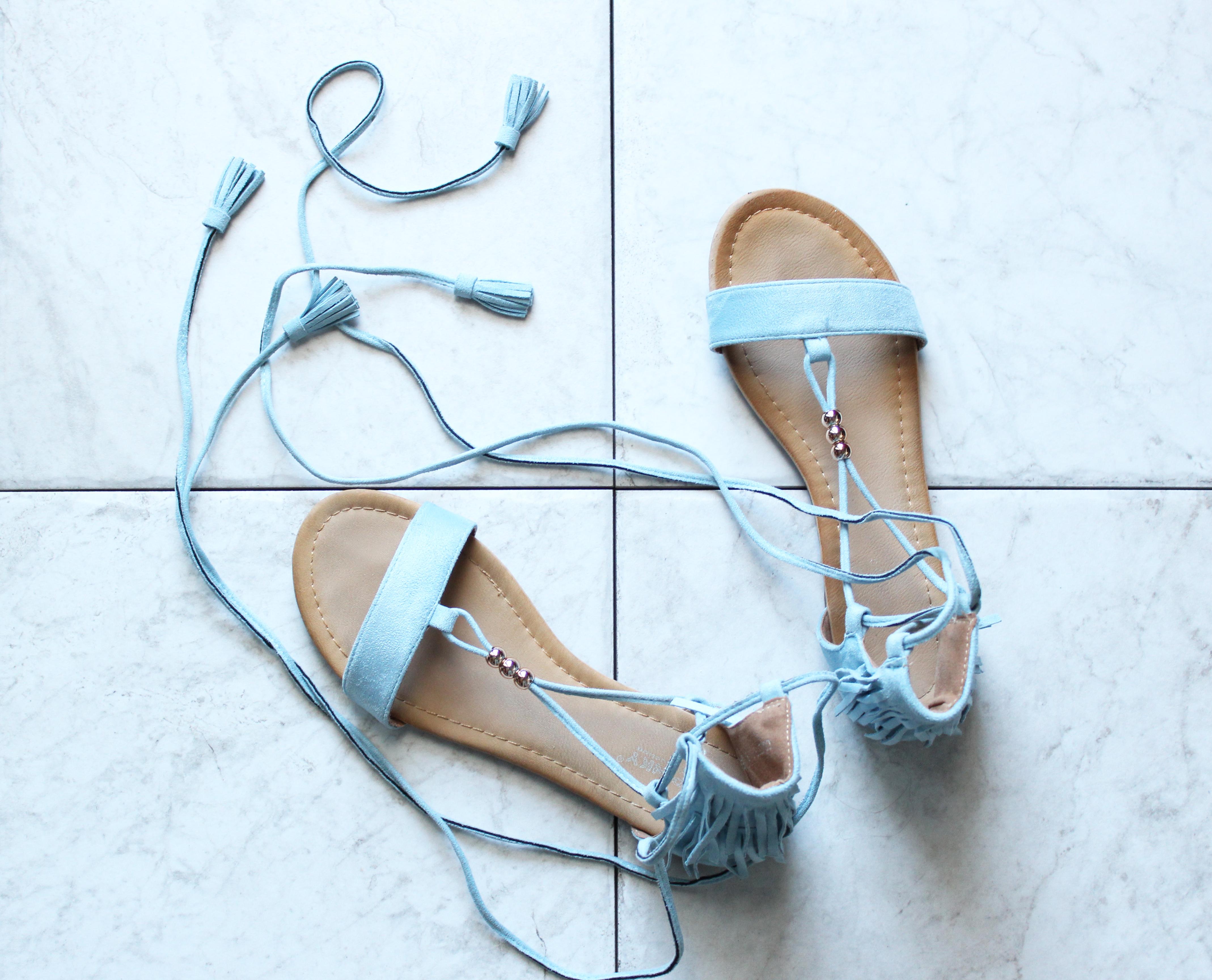 Shuesq Tassel Sandals