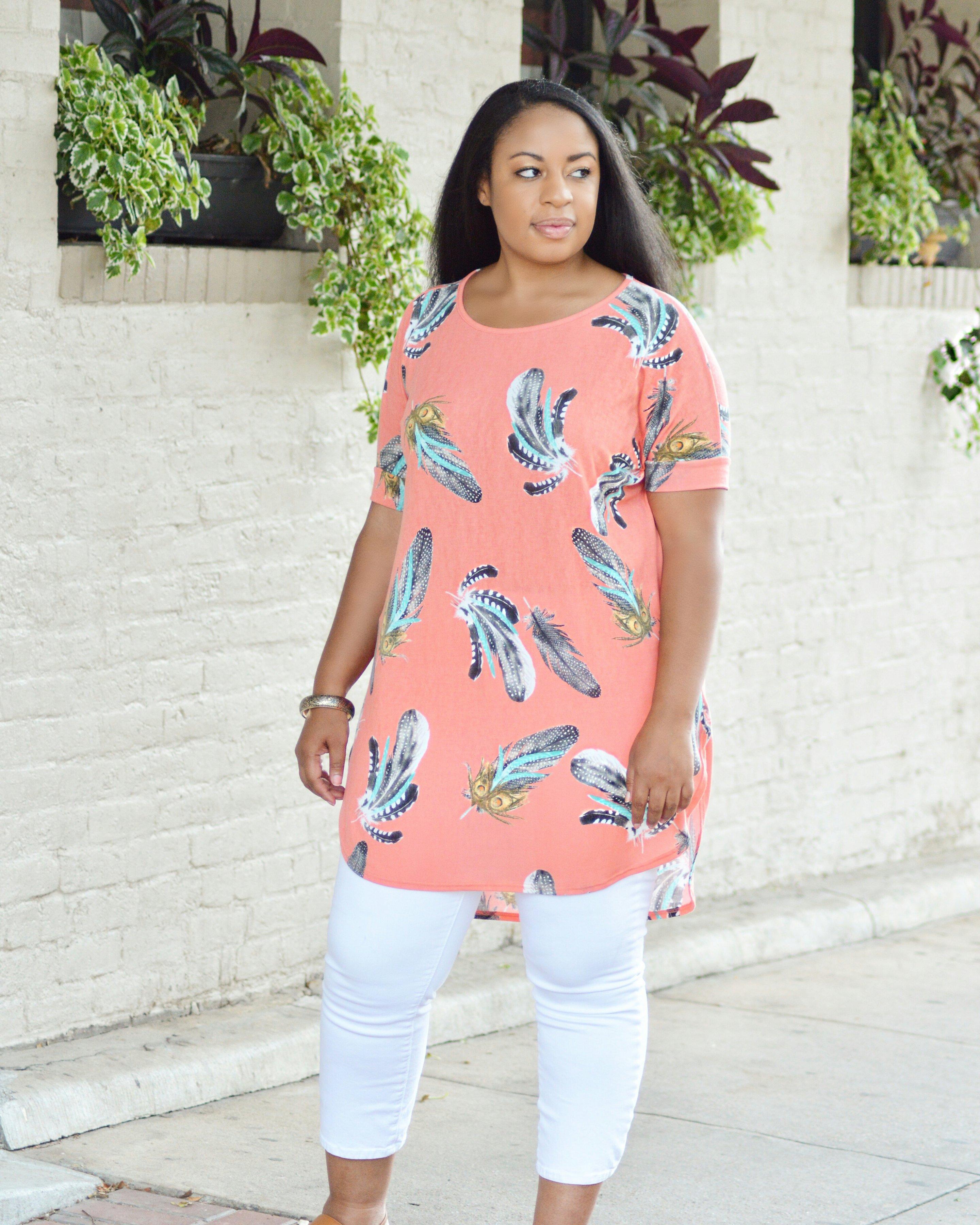 Coral Shirt