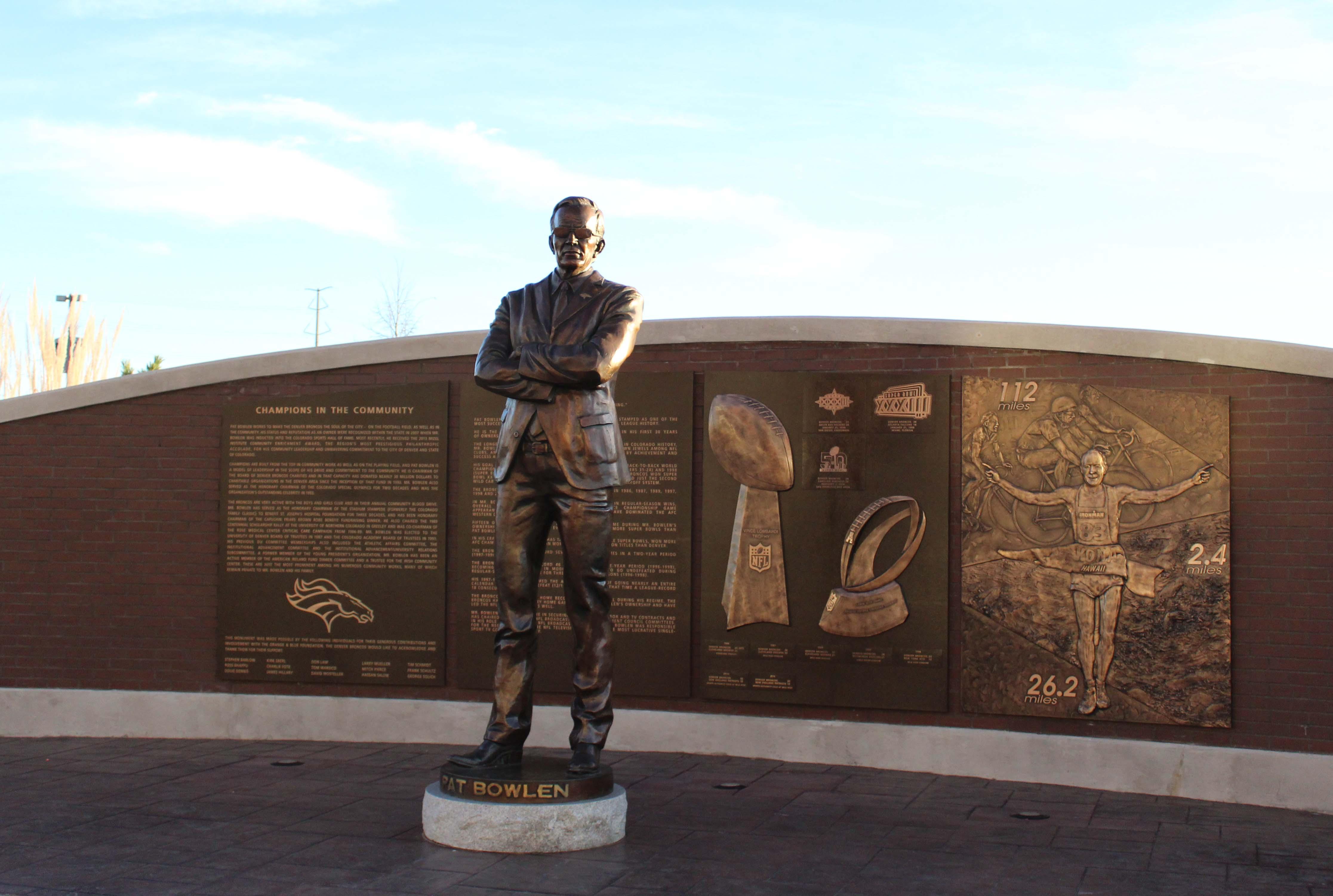 Pat Bowlen Statue