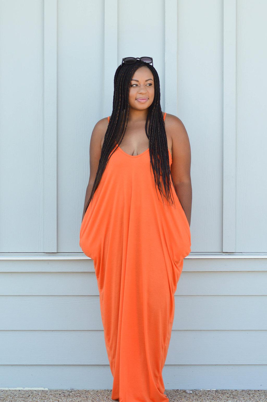 V-Neckline Cocoon Cami Dress SHEIN